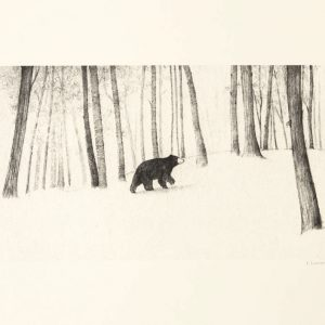 Esther-Connon-Bear-in-the-Woods-Print-Main-Image-
